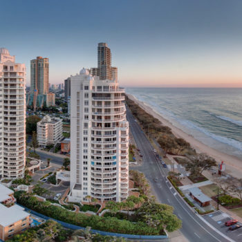 Gold Coast Morning views from the Apartments