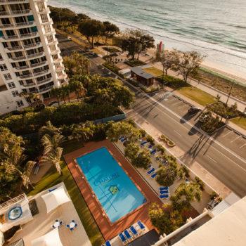 POOL-AA2 Pool Beachwalk & Esplanade from L10